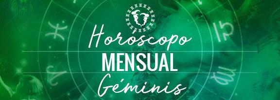 Horóscopo de Géminis Mensual