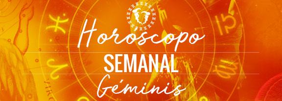 Horóscopo de Géminis Semanal